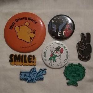 😁 Vintage Pins & Magnets😁